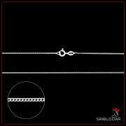 """Ланцюжок срібний """"Грівала""""арт.10820"""