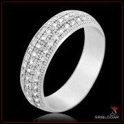 "Кольцо серебряное ""Гарда""арт.10161"