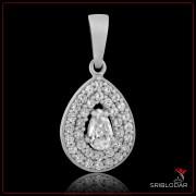 """Підвіска срібна """"Джусіна""""арт.30037-b"""