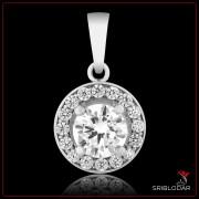 """Підвіска срібна """"Імелда""""арт.30053"""