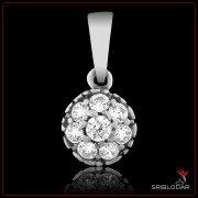 """Підвіска срібна """"Делфіна""""арт.30016"""