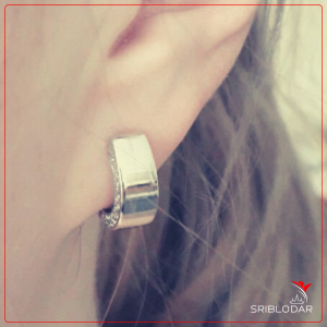 Сережки срібні «Сімона» ФОТО-SRIBLODAR TM
