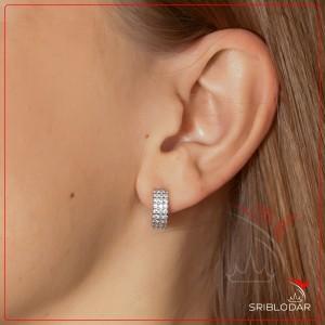 Сережки срібні «Орсола» ФОТО-SRIBLODAR TM