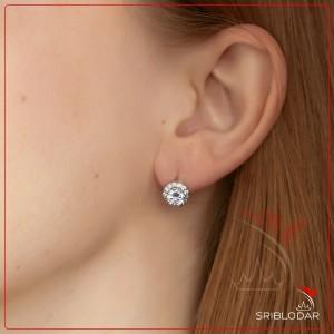 Сережки срібні «Піріну» ФОТО-SRIBLODAR TM