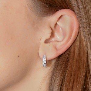Сережки срібні «Сандра» ФОТО-SRIBLODAR TM