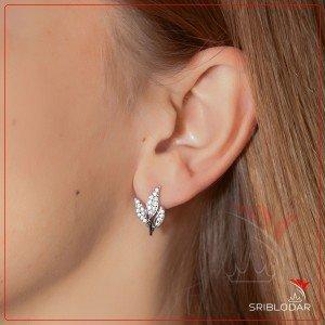 Сережки срібні «Семента» ФОТО-SRIBLODAR TM