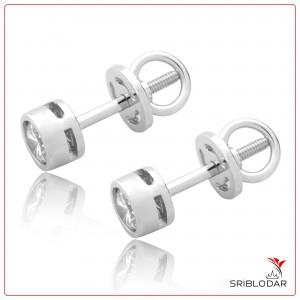 Сережки срібні «Фебріз» ФОТО-SRIBLODAR TM