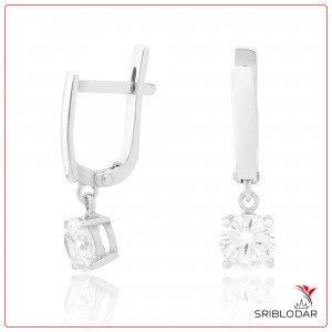 Сережки срібні «Натале» ФОТО-SRIBLODAR TM