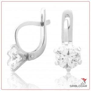 Сережки срібні «Рената» ФОТО-SRIBLODAR TM