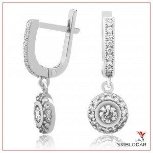 Сережки срібні «Серакузи» ФОТО-SRIBLODAR TM