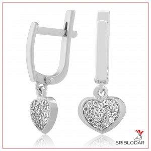Сережки срібні «Тортона» ФОТО-SRIBLODAR TM