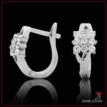Сережки срібні «Сесерін» ФОТО - SRIBLODAR