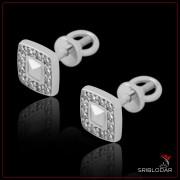 """Сережки срібні """"Тренто""""арт.40001"""