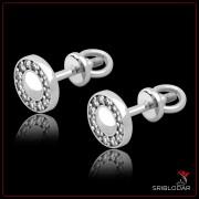 """Сережки срібні """"Енріка""""арт.40003"""