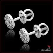 """Сережки срібні """"Федеріка""""арт.40004"""