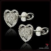 """Срібні сережки """"Кімсто"""" арт.40020"""