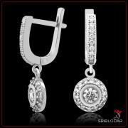"""Сережки срібні """"Серакузи""""арт.52006"""