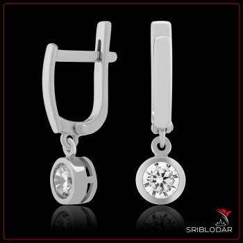 Сережки срібні «Феррара» ФОТО - SRIBLODAR