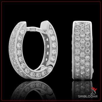 Сережки срібні «Нерін» ФОТО - SRIBLODAR
