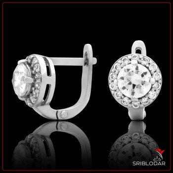 Сережки срібні «Піріну» ФОТО - SRIBLODAR