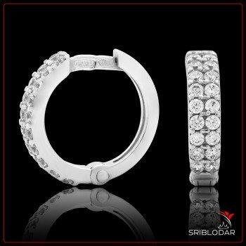 Сережки срібні «Сандра» ФОТО - SRIBLODAR