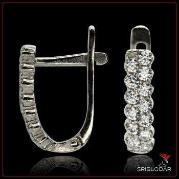 Сережки срібні «Тантіні» ФОТО - SRIBLODAR