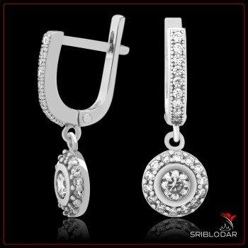Сережки срібні «Серакузи» ФОТО - SRIBLODAR