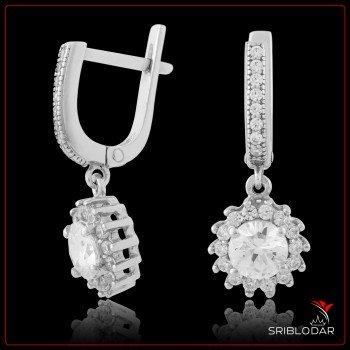 Сережки срібні «Елді» ФОТО - SRIBLODAR
