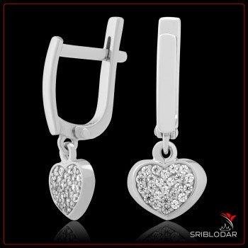 Сережки срібні «Тортона» ФОТО - SRIBLODAR