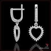 """Срібні сережки """"Ровенна"""" арт.52070"""
