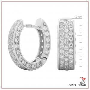 Сережки срібні «Нерін» ФОТО-SRIBLODAR TM