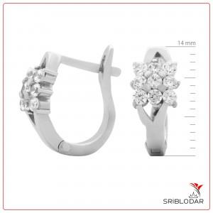 Сережки срібні «Сесерін» ФОТО-SRIBLODAR TM