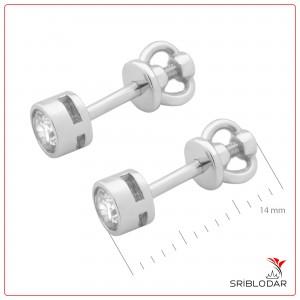 Сережки срібні «Чіера» ФОТО-SRIBLODAR TM